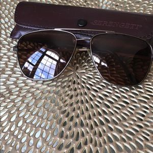 Vintage Serengeti Unisex Sunglasses with Case